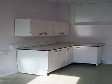 bedford hospital lab install