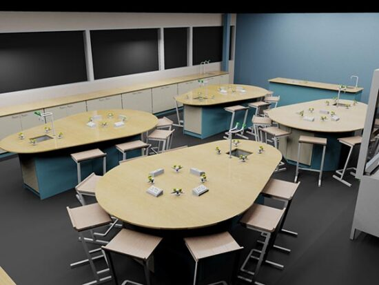 School Science Laboratories – InterFocus Lab Furniture