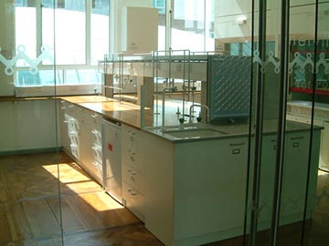 dept of chemistry new labs