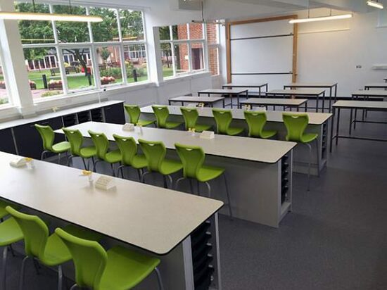 kent college science classrooms