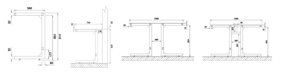 c frame dimensions
