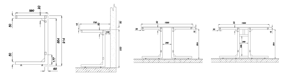 suspended frame i4 dimensions