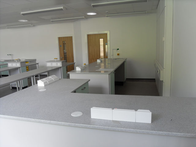 Science Lab Layout