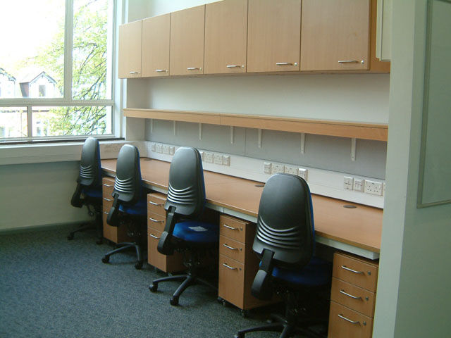 office furniture installed by interfocus at Cambridge University