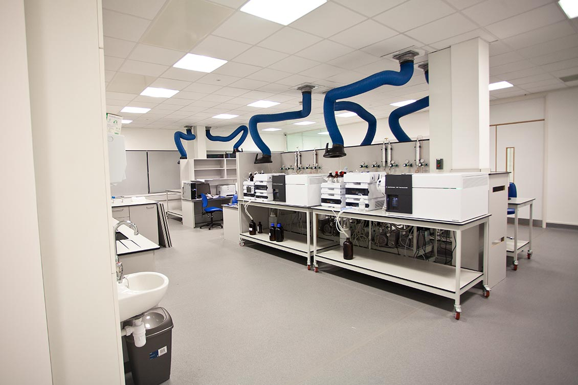 Welsh Water Full Service Turnkey Laboratory Installation