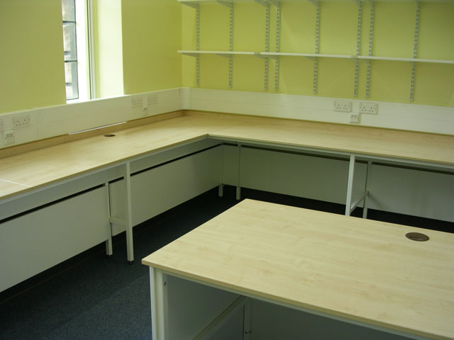 Lab desk from department of zoology in Cambridge University