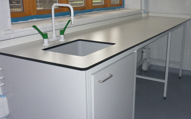 Laboratory Furniture Install