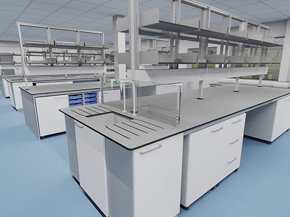 3D laboratory design