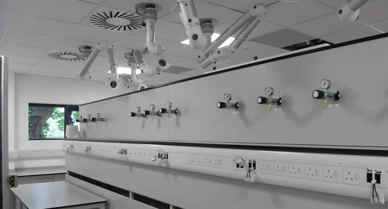 A turnkey laboratory designed by interfocus for South West Water