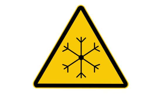Low Temperature Safety Symbol