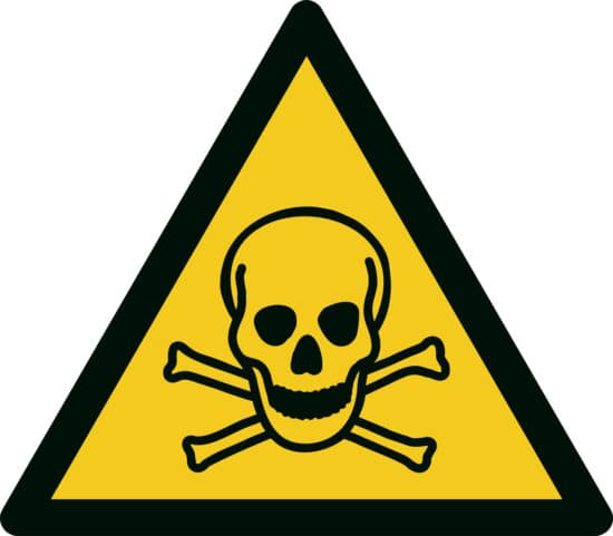 Safety Symbol For Toxic Materials