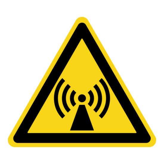 Non-Ionising Radiation Safety Symbol