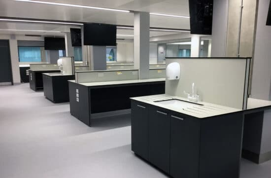 Laboratory Refurbishment and Fit Out   InterFocus Lab Furniture