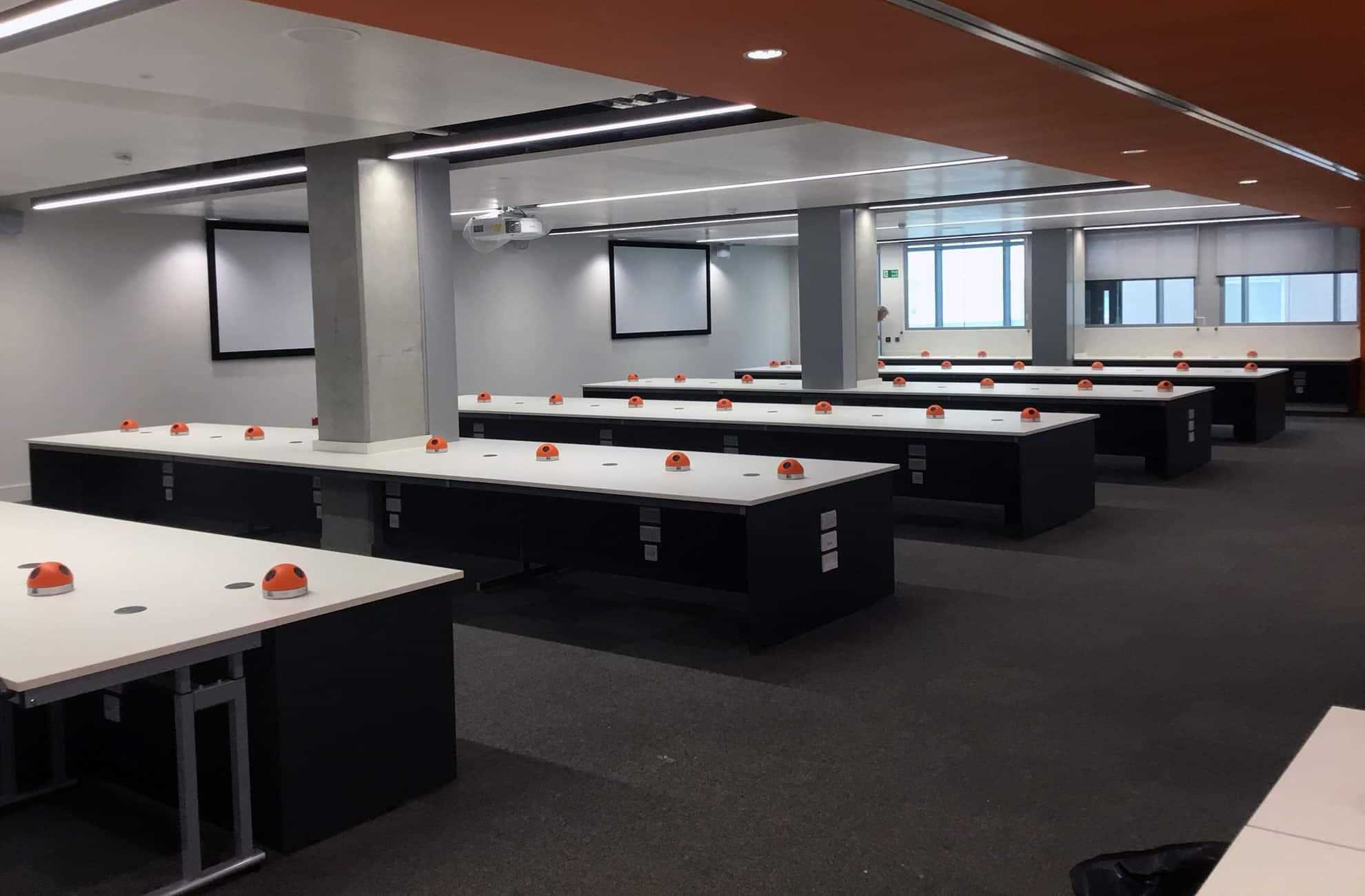 laboratory refurbishment and installation