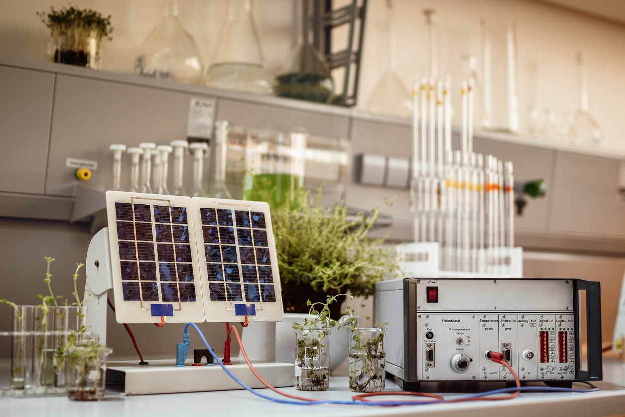 Green energy in the lab