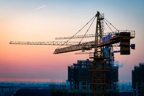 crane construction site